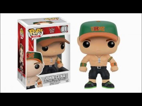 New Wwe Pop Viny Figures From Funko Slide Show Youtube