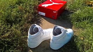 Unboxing new school shoes Puma