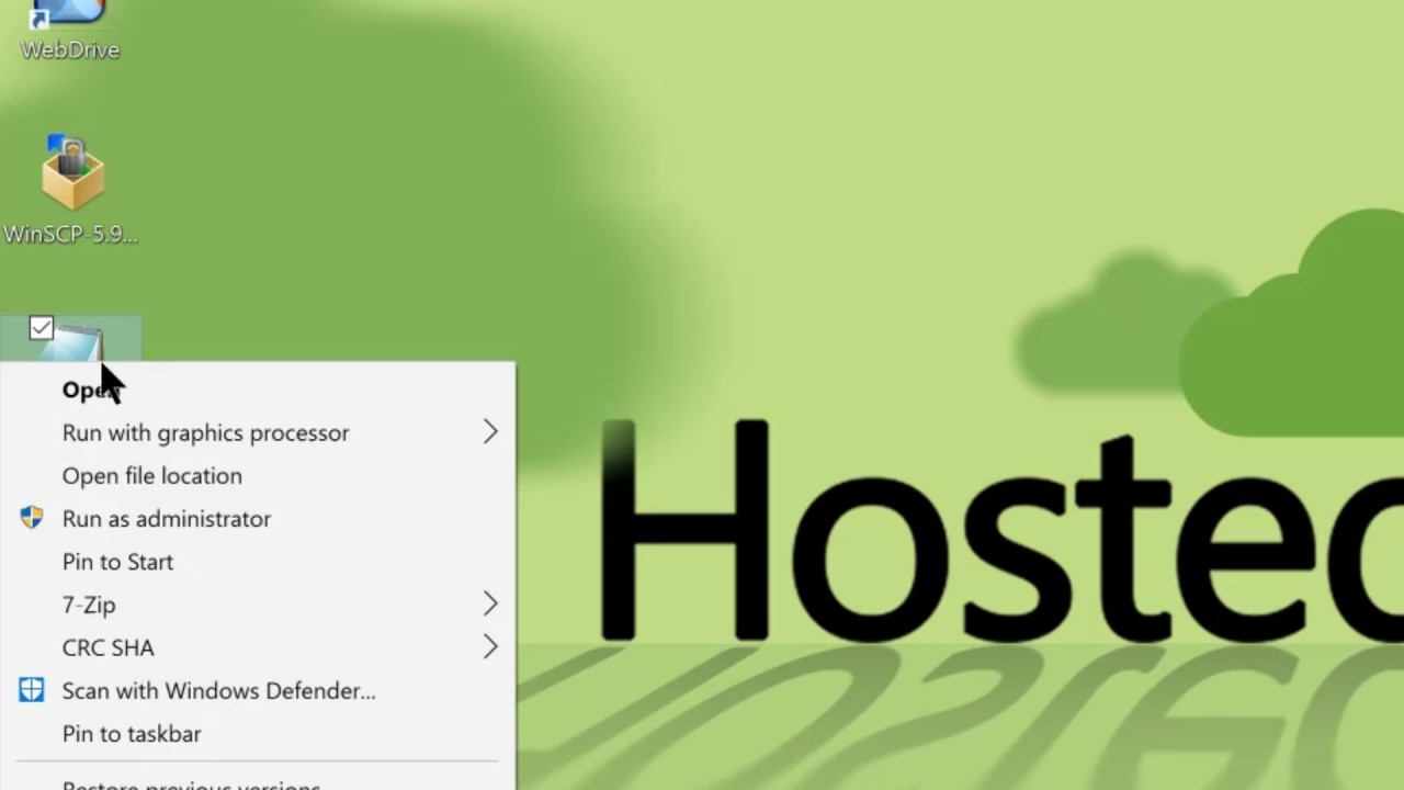 WinSCP Backup Script with HostedFTP | Hosted~FTP~ Help
