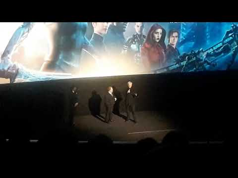 World premiere of Alita introduced by James Cameron & Robert Rodiguez