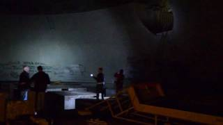 Exploring an abandoned nuclear missile silo, as you do