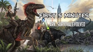First 5 Minutes - ARK Survival Evolved on R7 250