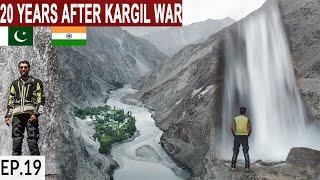 THE LAST VALLEY ON INDIA-PAKISTAN LOC NEAR KARGIL S2. EP19 | Pakistan Motorcycle Tour