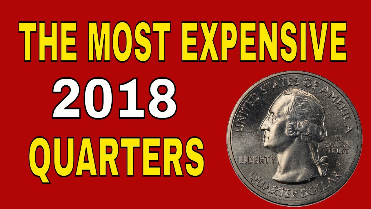 Rare 2018 quarters worth money! Valuable quarters to look for!