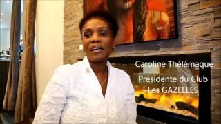 Le Salon des GAZELLES, Caroline Thélémaque,  présidente de Groupe GAZELLES