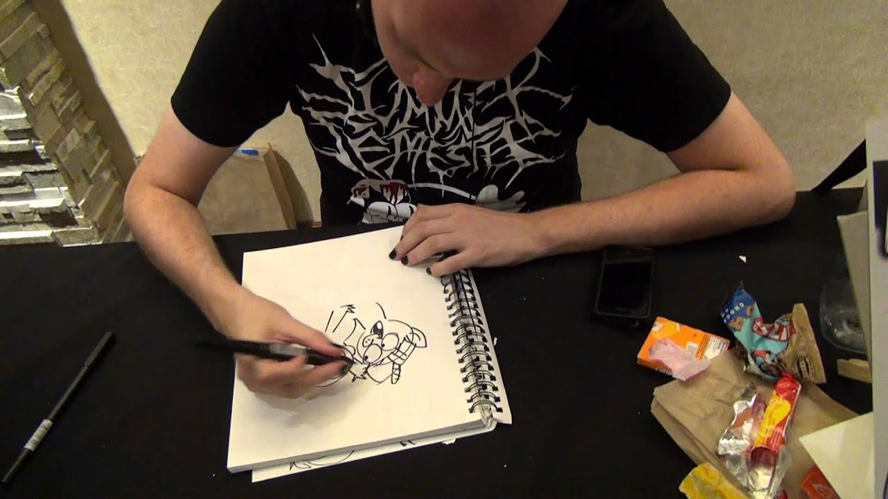 max gilardi live drawing youtube