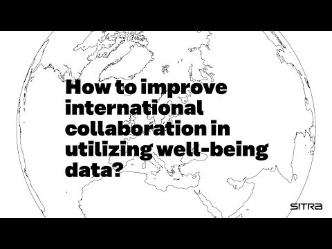 What's up with well-being data – collaboration?