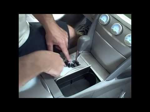 How to clean a gear shifter