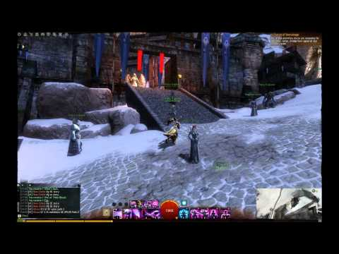 Guild Wars 2 Frostland Melt Vista Point/Black Earth Coalmine Vista Point (Dredgehaunt Cliffs)