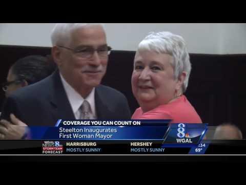 Steelton&39;s first female mayor sworn in