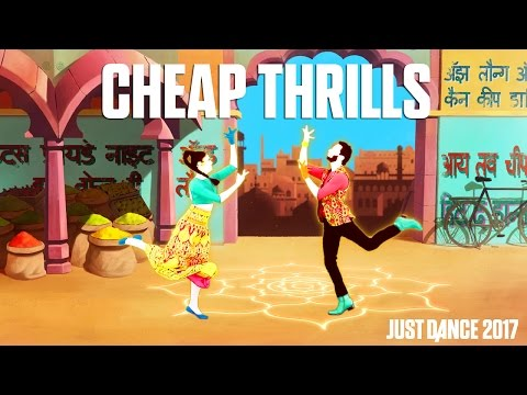 Sia Ft.Sean Paul  Cheap Thrills   Just Dance 2017  Alternate Gameplay p UK