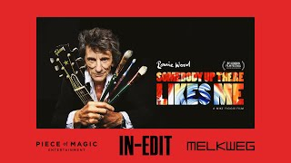 Première 'Ronnie Wood: Somebody Up There Likes Me' (Mike Figgis, 2020) at Melkweg