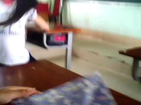 Nữ sinh đánh nhau-Trường THCS Phước Hòa