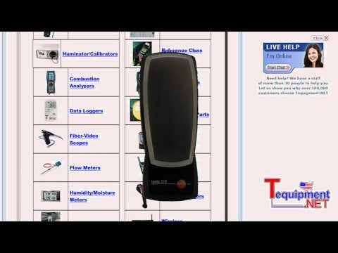 testo Pocket Pro 510 Pressure Meter with Air Velocity & 512 Digital Manometer Anemometer