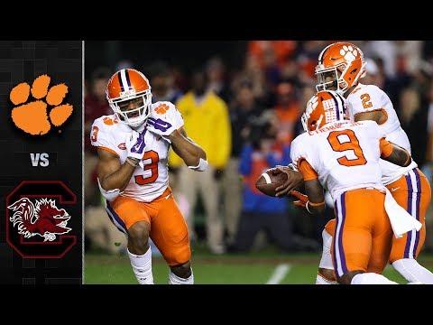 Clemson vs. South Carolina Football Highlights (2017)