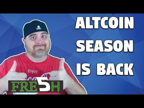 Altcoin Season OFFICIALLY HERE | Facebook & Instagram Down | $XLM on Coinbase
