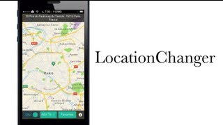 LocationChanger allows you to change your current location