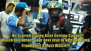 Petrol Pump Frauds in India | Petrol Scam Caught on Camera | Got Cheated At A Petrol Pump 2019