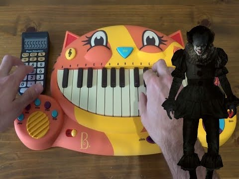 IT - The Pennywise Dance BUT I PLAYED IT ON A CAT PIANO AND A DRUM CALCULATOR