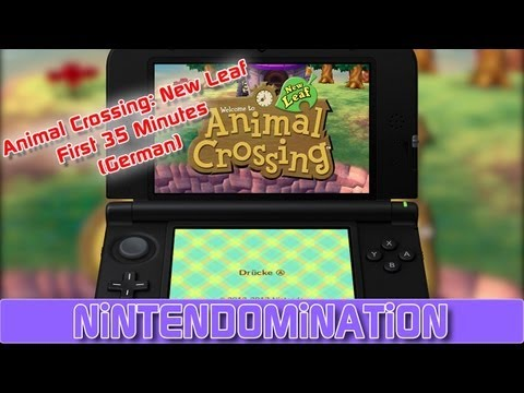Animal Crossing: New Leaf - First 35 Minutes (German)