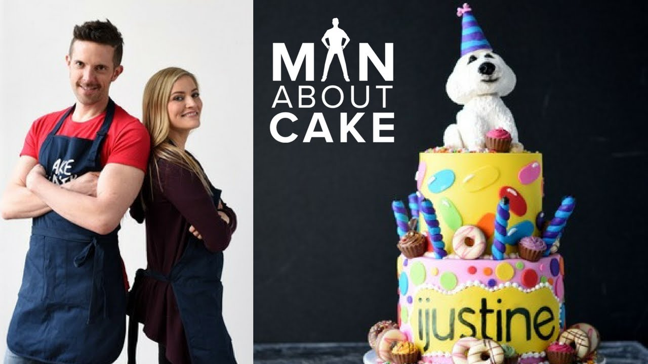 Ijustine Dream Birthday Cake Collab With Man About Cake