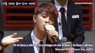 Video EXO - XOXO Live [Sub Español + Hangul + Rom] download MP3, 3GP, MP4, WEBM, AVI, FLV Februari 2018
