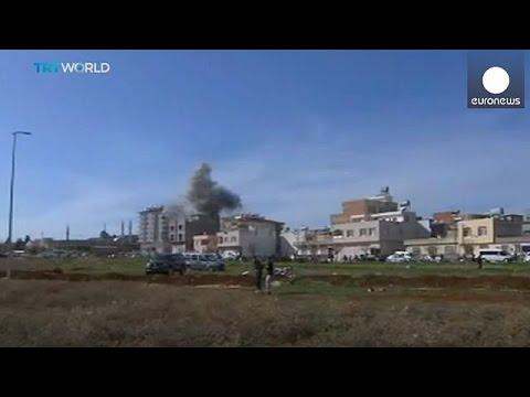 Suriye'den Atılan Roket Mermileri Kilis'e Düştü