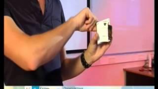 видео Магнитная полоса на пластиковых картах