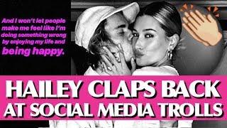 Hailey Baldwin CLAPS BACK At Social Media Trolls!