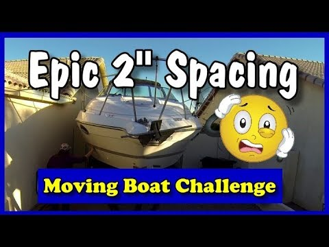 """Epic 2"""" Boat Clearance Challenge Moving From Storage 