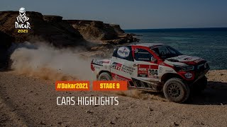 #DAKAR2021 - Stage 9 - Neom / Neom - Car Highlights