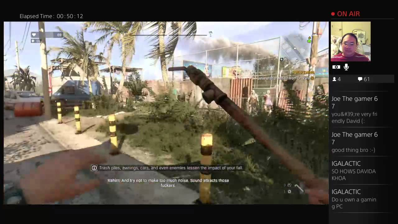 Dying Light Introduction Initial Thoughts Live Stream