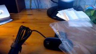 Распаковка веб камеры logitech c310