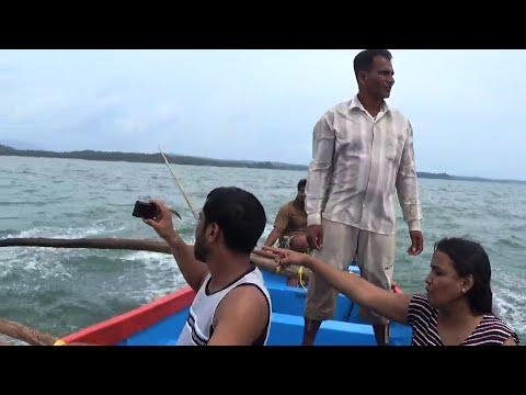 Adventurous Dolphin Spotting At Palolem Beach Goa India - Full Video