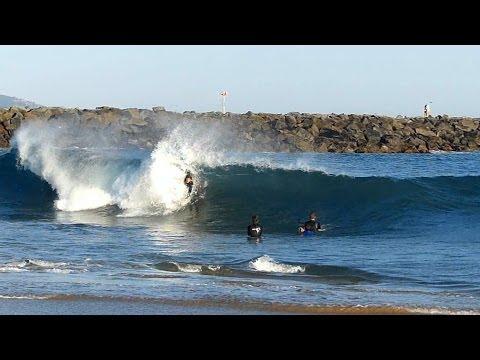 Newport Beach, CA, Wedge Surf 4ft - 6ft, 4/29/2014 - Part 3