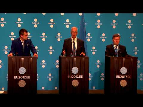 Press conference: The meeting of Ministers of Justice and ministerial delegations