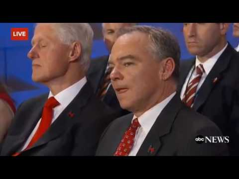 Video: LOL Bill Clinton fell asleep during Hillary's Speech at DNC