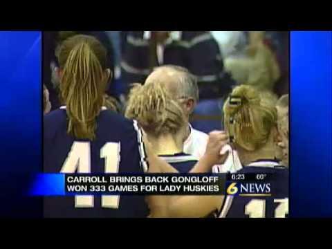 Gongloff returns as Bishop Carroll girls hoops coach - YouTube