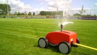 Perrot Rollcart beregening van voetbalvelden