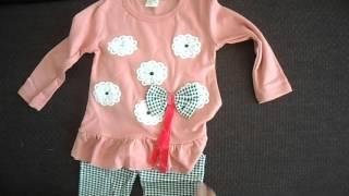 Обзор детский костюм для девочки.Review of children's costume for girls.