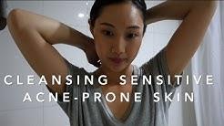 Oil cleansing acne-prone skin | Jenn Rogers