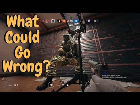 When Idiots Play Siege! - Rainbow Six Siege