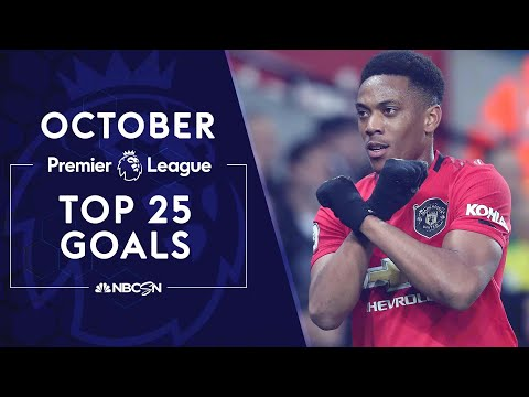 Top 25 Premier League goals from October 2019 | NBC Sports