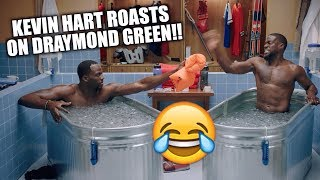 Kevin Hart ROASTS Draymond Green in COLD AS BALLS Ep. 2!!  😂😭 | Calls Him the