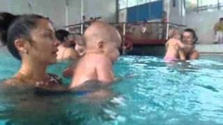 Плаванье грудничков