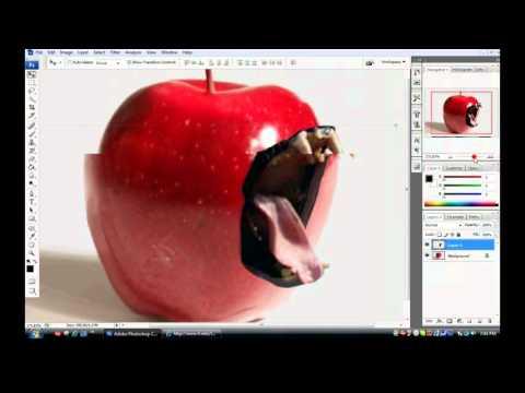 Hướng dẫn ghép 2 ảnh bằng photoshop (đơn giản)