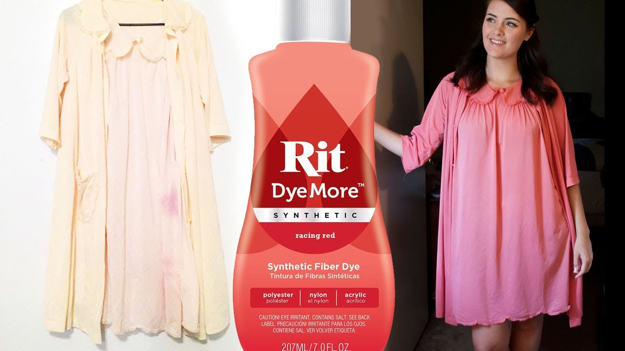 Rit Dyemore Synthetic Fabric Dye Vintage Clothing Repair Diy How To Hide A Stain