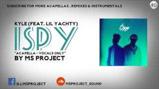 Download KYLE - iSpy (feat. Lil Yachty) (Acapella - Vocals Only) MP3 song and Music Video