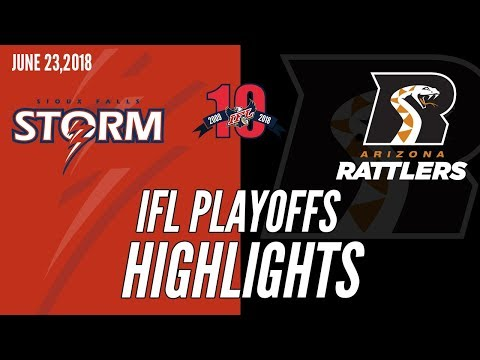 2018 IFL Playoffs: Sioux Falls at Arizona