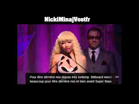 Nicki Minaj Billboard Interview sous-titrés en français